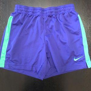 Nike Dri-Fit Blue Athletic Shorts XS